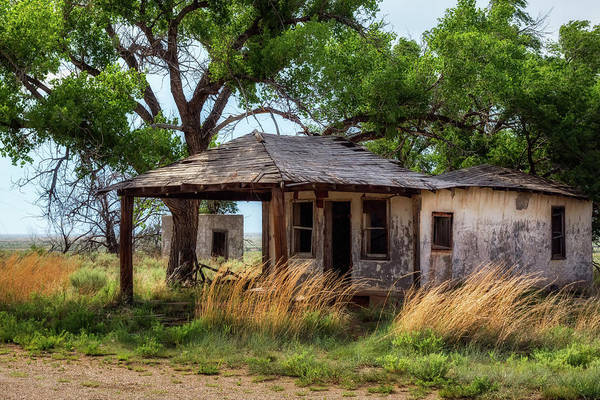 Ghosttown Photograph - Out Of Gas by James Barber