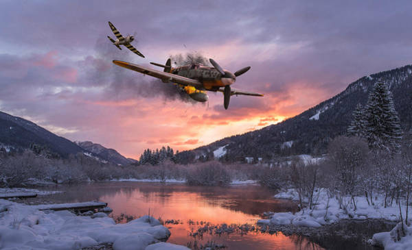 Usaaf Wall Art - Digital Art - Out Of Luck by Mark Donoghue