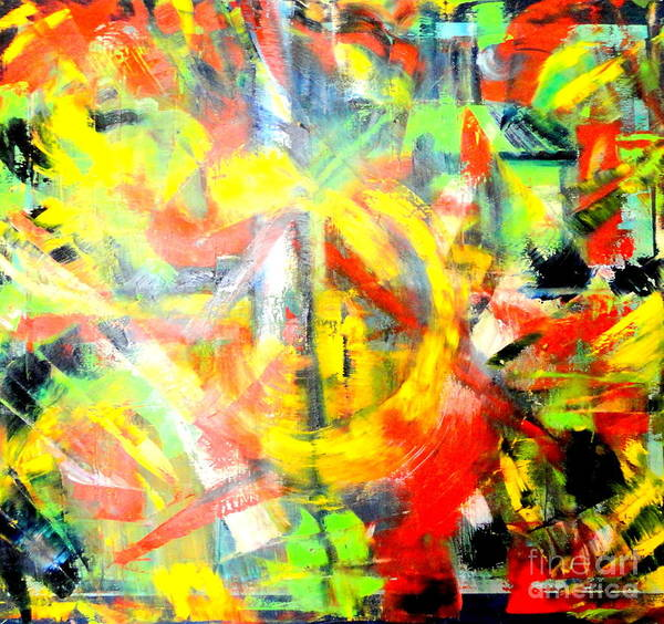 Painting - Out Of Order by Dagmar Helbig
