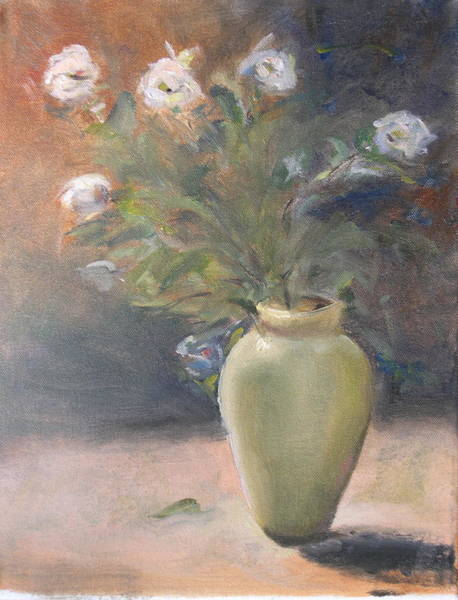Wall Art - Painting - Out Of The Garden by Patricia Caldwell