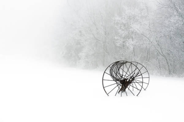 Photograph - Out Of The Mist A Forgotten Era 2014 by Greg Reed