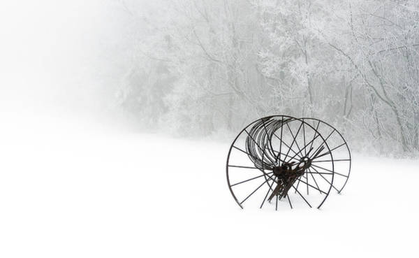 Photograph - Out Of The Mist A Forgotten Era 2014 II by Greg Reed