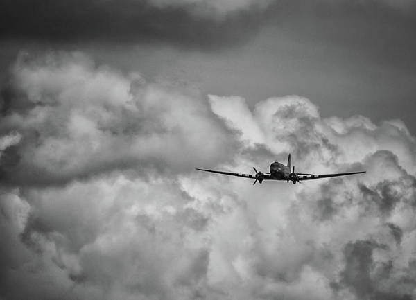 Cargo Plane Wall Art - Photograph - Out Of The Storm by Martin Newman