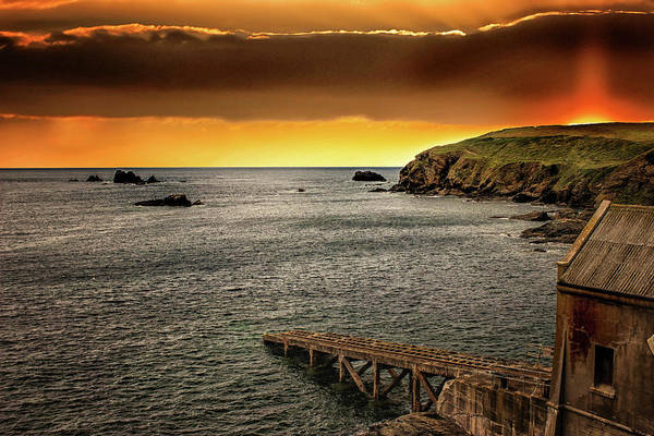 Cornwall Photograph - Out To Sea by Martin Newman