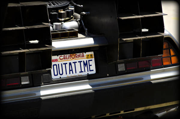 Grilles Photograph - Outatime by Ricky Barnard