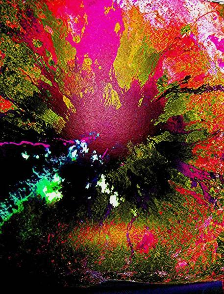 Digital Art - Outburst by Teodoro De La Santa