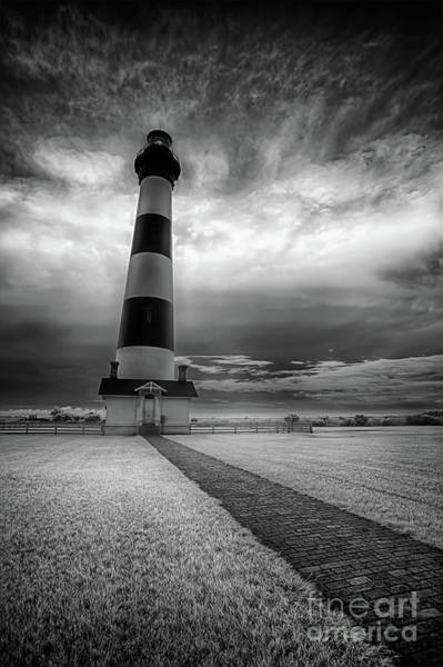 Wall Art - Photograph - Outer Banks Bodie Lighthouse Original Ir by Dan Carmichael