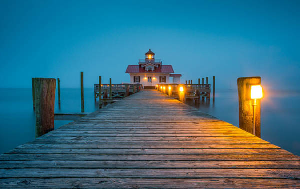 Outer Banks Wall Art - Photograph - Outer Banks Manteo Nc Roanoke Marshes Lighthouse Obx North Carolina by Dave Allen
