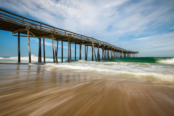 Outer Banks Wall Art - Photograph - Outer Banks Nc Beach Seascape Obx North Carolina by Dave Allen