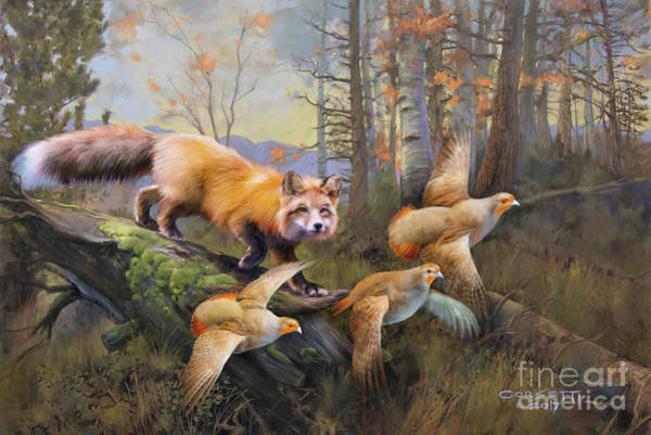 Painting - Outfoxed by Rob Corsetti