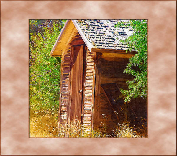 Photograph - Outhouse 1 by Susan Kinney