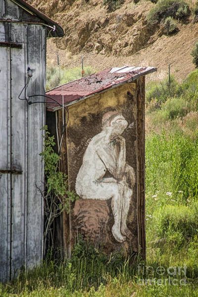 Outside Toilet Photograph - Outhouse Art by Priscilla Burgers