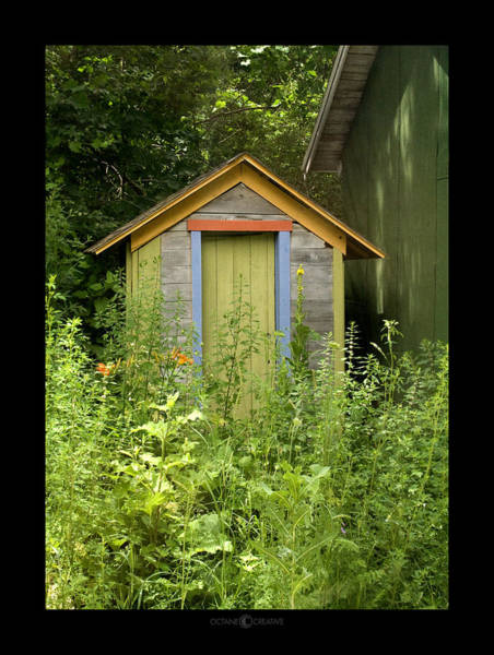 Photograph - Outhouse by Tim Nyberg