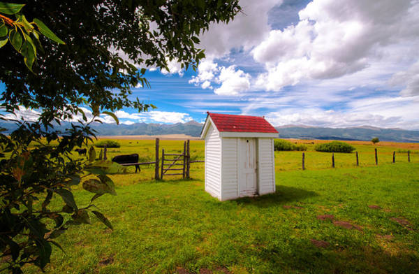 Wall Art - Photograph - Outhouse by Tim Reaves