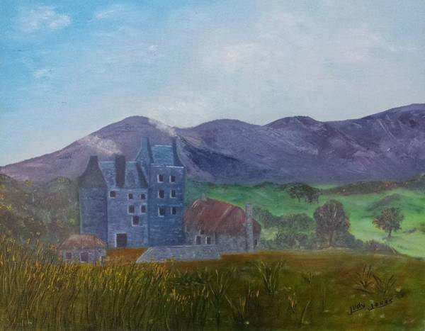 Wall Art - Painting - Outlander by Judy Jones