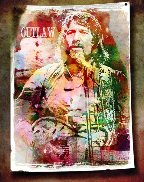 Wall Art - Digital Art - Outlaw by Mal Bray