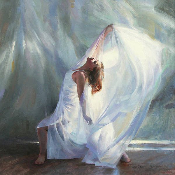 Dancing Painting - Outpouring by Anna Rose Bain