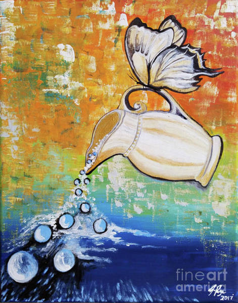 Painting - Outpouring by Jennifer Page