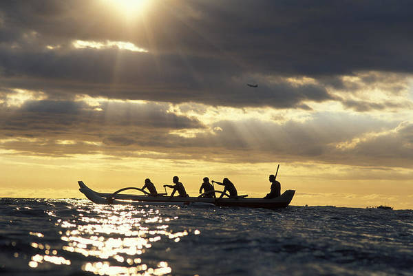 Outrigger Canoe Photograph - Outrigger Canoe by Vince Cavataio - Printscapes