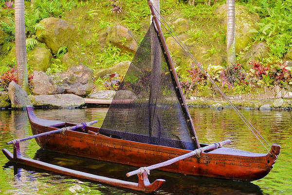 Photograph - Outrigger by Christi Kraft