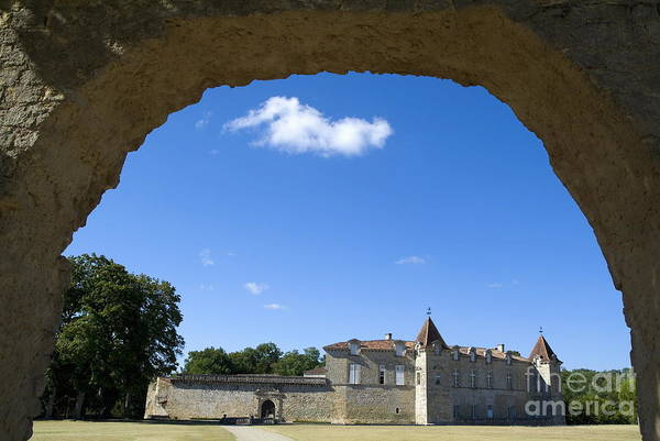 Wall Art - Photograph - Outside A Castle In Cazeneuve by Sami Sarkis