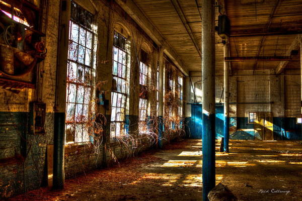 Photograph - Outside Coming In The Vines Of Time Mary Leila Cotton Mill Greensboro Ga by Reid Callaway