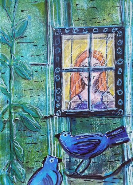 Outside My Window Art Print