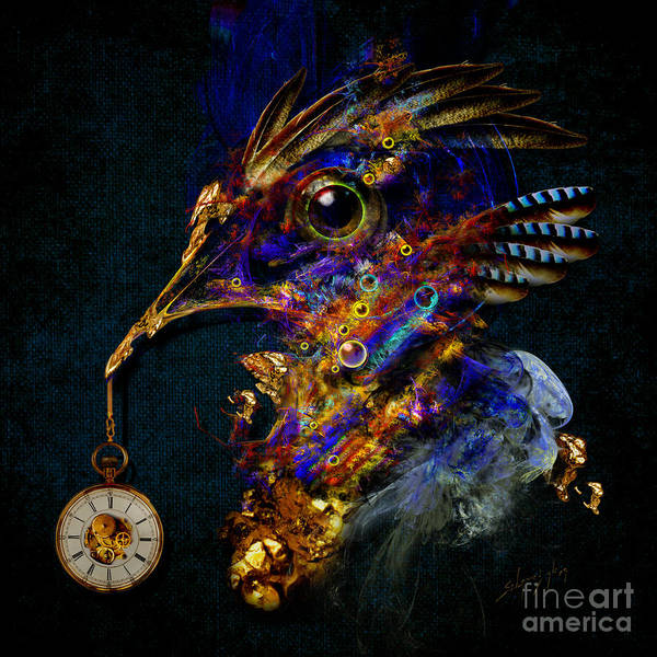 Outside Of Time Art Print