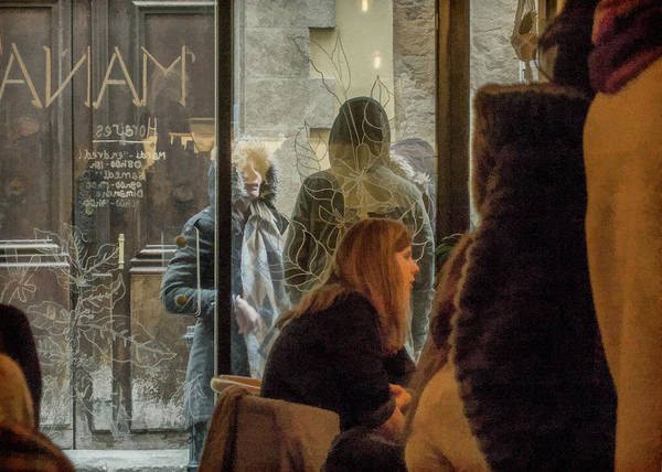 Photograph - Outside The Cafe by Jessica Levant
