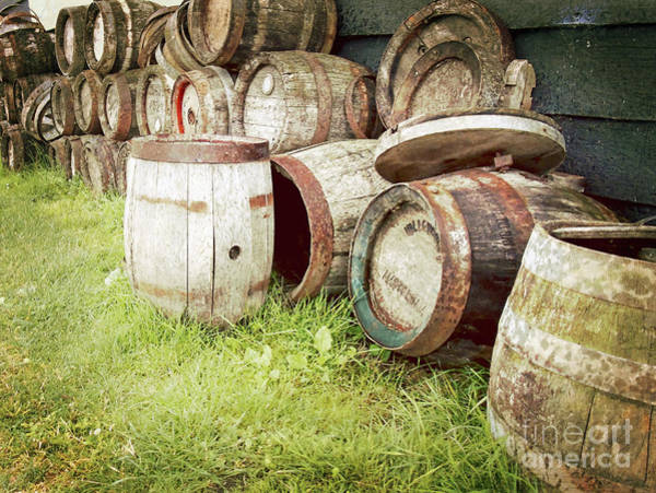 The Keg Photograph - Outside The Cooperage by Susan Lafleur