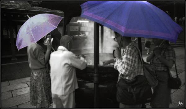 Photograph - Outside The Shrine by Wayne King