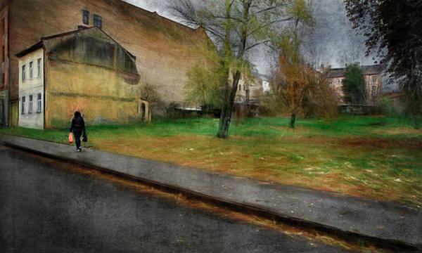 Moscow Mixed Media - ..outskirts Of A Big Town / Riga - Moscow Forstadt / by Aleksandrs Drozdovs