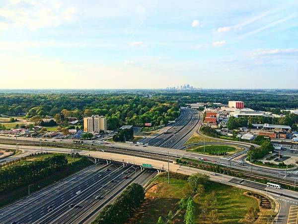 Hotlanta Photograph - Outskirts Of Atlanta by Paul Wilford