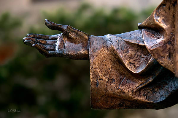 Photograph - Outstretched Hand by Christopher Holmes