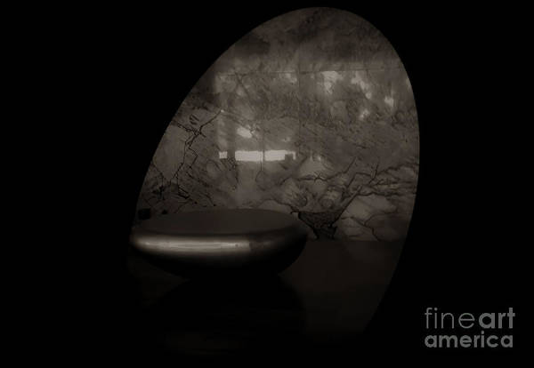 Photograph - Oval Interior by Camille Pascoe