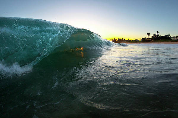 Moving Water Photograph - Over Easy by Sean Davey