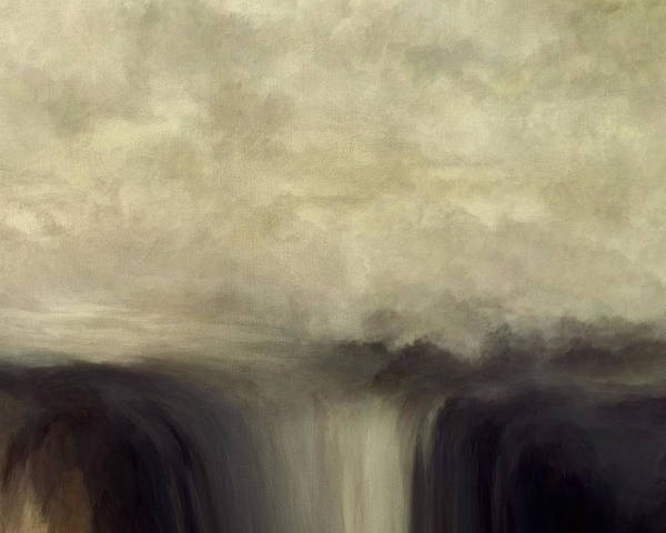 Prayer Mixed Media - Over Flow by Lonnie Christopher