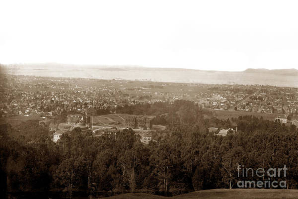 Photograph - Over Looking The University Of California, Berkeley by California Views Archives Mr Pat Hathaway Archives