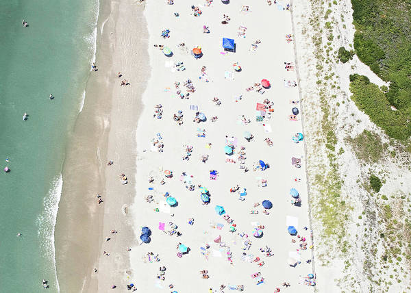 Sunbather Wall Art - Photograph - Over Second Beach by Katherine Gendreau