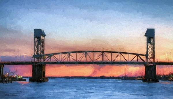 Photograph - Over The Cape Fear by JC Findley