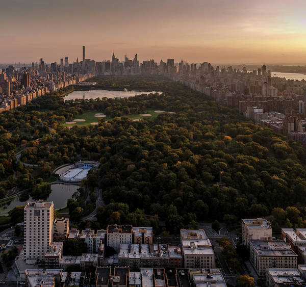 Photograph - Over The City Central Park by Anthony Fields