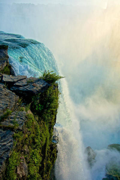 Wall Art - Photograph - Over The Falls II by Kathi Isserman