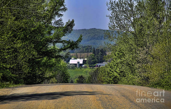 Photograph - Over The Hill by Jim Lepard