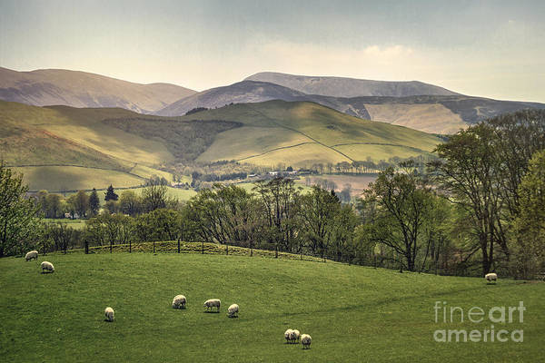 Scottish Landscape Photograph - Over The Hills And Far Away by Evelina Kremsdorf