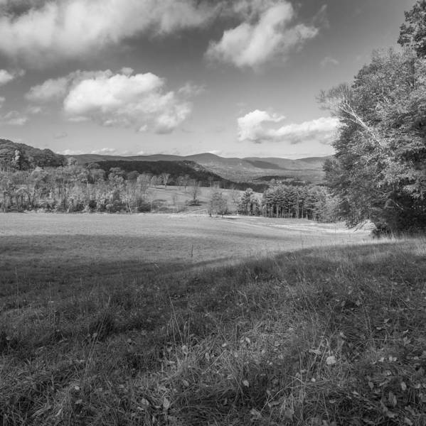 Photograph - Over The Hills Square Bw by Bill Wakeley