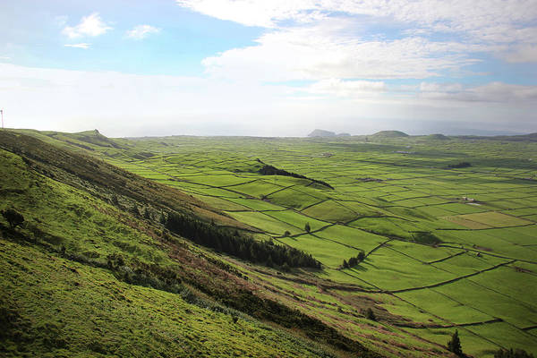 Photograph - Over The Rim On Terceira Island, The Azores by Kelly Hazel