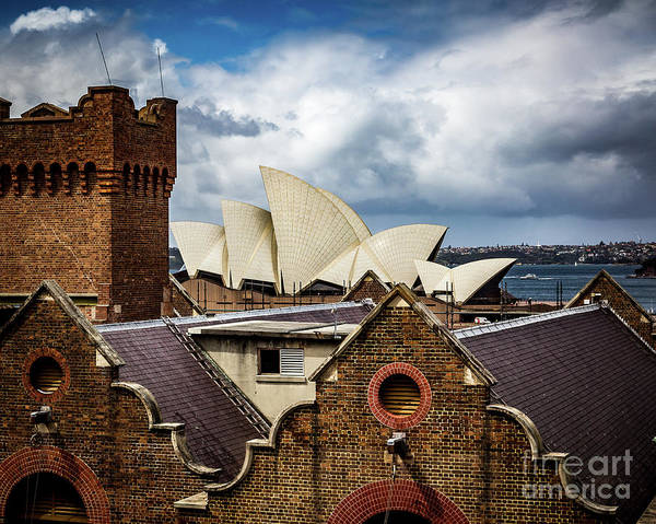 Wall Art - Photograph - Over The Roof Tops by Perry Webster