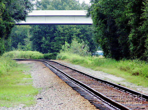 Photograph - Over The Tracks by D Hackett