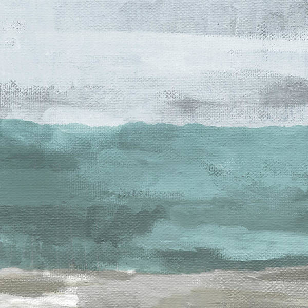 Grey Skies Wall Art - Mixed Media - Overcast- Art By Linda Woods by Linda Woods