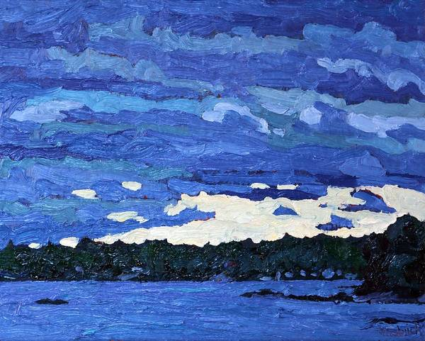 Stratocumulus Painting - Overcast Dawn by Phil Chadwick